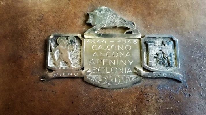 W licheńskim muzeum pamiątki związane z bitwą o Monte Cassino