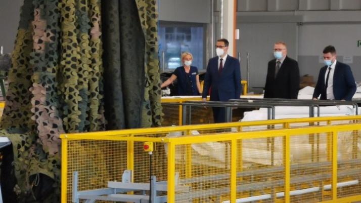 Premier Mateusz Morawiecki przybył do Turku z Polskim Ładem