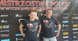 Nauczyciele wyciskali sztangę. Walczykiewicz wicemistrzynią Polski
