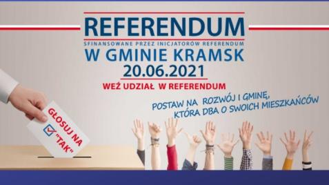 Referendum lokalne w gminie Kramsk 20 czerwca 2021. Dlaczego stało się koniecznością?