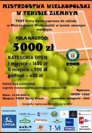 Sportowy weekend: Tenisiści rozegrają mistrzostwa Wielkopolski