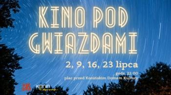 Kino pod gwiazdami. Komedie w piątkowe wieczory przed KDK