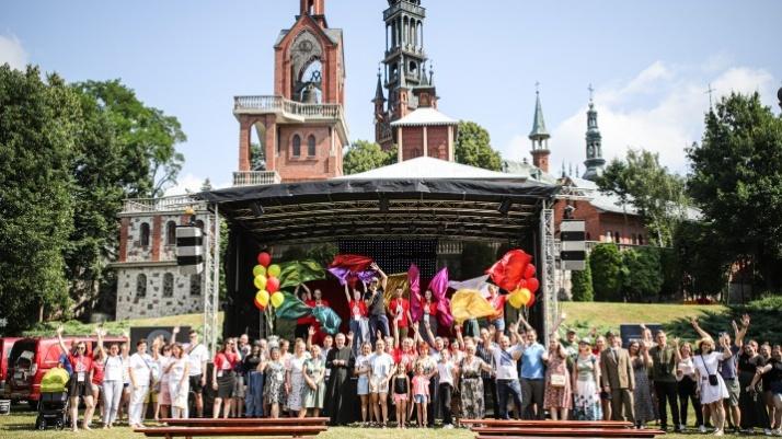 Dużo modlitwy, uśmiechu i dobrej zabawy na festiwalu radości