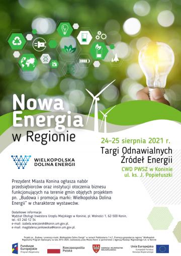 "Targi OZE - ""Nowa energia w regionie"