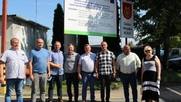 Delegacja z ukraińskiego miasta partnerskiego odwiedział Koło