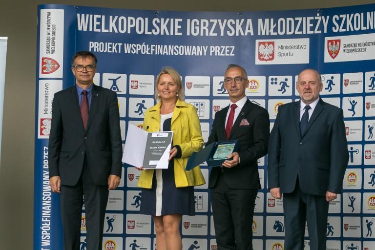 Współzawodnictwo sportowe. Konin i powiat turecki najlepsze w regionie