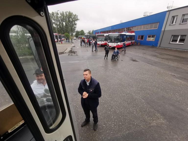Konin. Pogoda nie zepsuła dnia otwartego w Miejskim Zakładzie Komunikacji