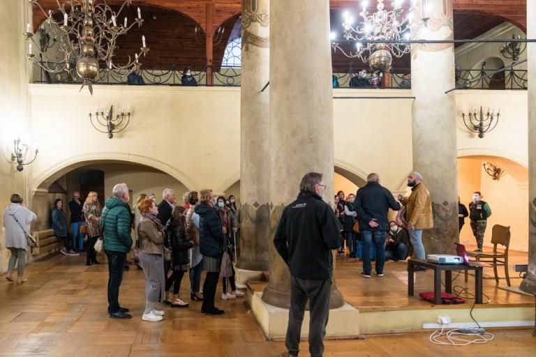W konińskiej synagodze zabrzmiał dźwięk niezwykłego instrumentu