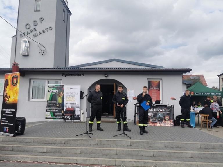 Stare Miasto. Dzień otwarty w Ochotniczej Straży Pożarnej