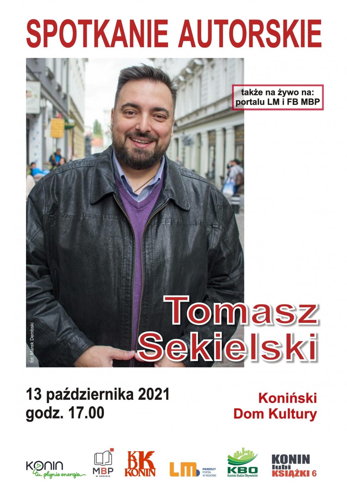 W KDK odbędzie się spotkanie autorskie z Tomaszem Sekielskim