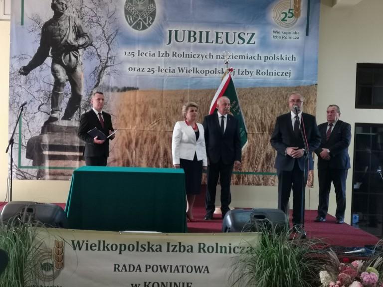 Historyczny moment. Wielkopolska Izba Rolnicza ma swój sztandar