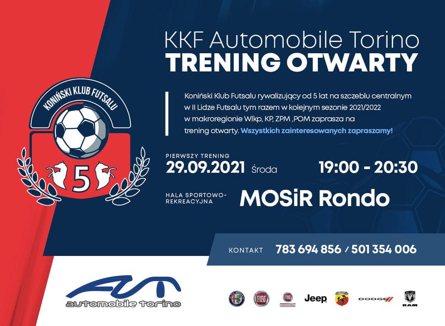 KKF Automobile Torino zaprasza wszystkich chętnych na otwarty trening