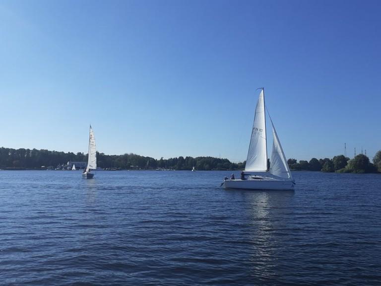 Sezon żeglarski zakończony. Humory i pogoda dopisały