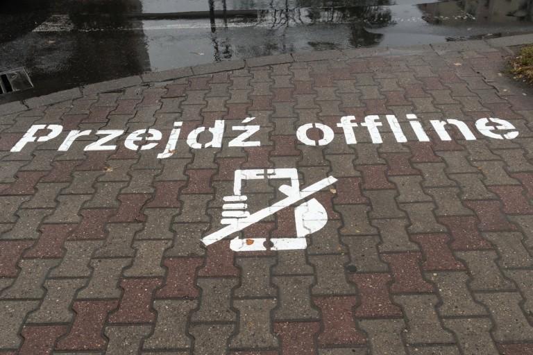 Konin. Nie używać telefonu komórkowego na przejściu dla pieszych