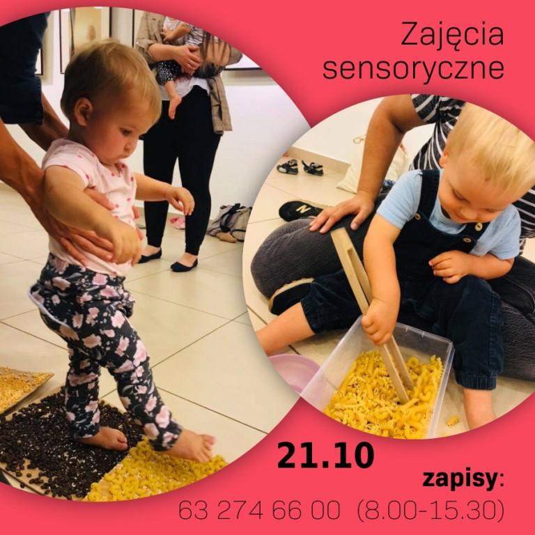 Zajęcia sensoryczne dla maluchów
