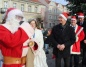 Prezydenci wspólnie z Mikołajem zapalili lampki na choince