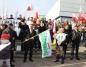 Na manifestacji wyrazili poparcie dla rządu i prezydenta