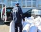 Przewozili niespełna pół tony nielegalnego tytoniu w workach