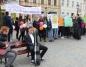 Młodzież przeciwko używkom. Happening na konińskim rynku