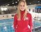 Julia Wróbel pływała z orzełkiem na piersi