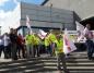 Energetycy pikietują w centrum Konina w obronie miejsc pracy