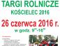 """Targi Rolnicze """"Kościelec 2016"""""""