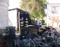 Spłonął garaż. Strażakom udało się wynieść butlę z gazem