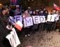 Konin. Zjednoczona opozycja protestowała przed bramą PiS