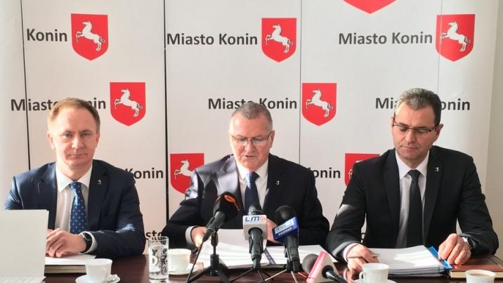Konferencja prasowa o reformie oświaty w Koninie. Są plany