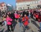 Konin. Na rynku tańczyli przeciwko przemocy wobec kobiet