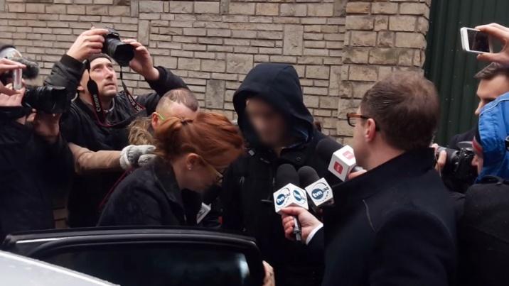 Adam Z. już na wolności. Nie chciał rozmawiać z dziennikarzami