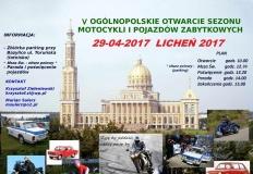 Licheń. Motocykliści i miłośnicy zabytkowych aut otworzą sezon
