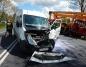 Wypadek w Boguszycach. Bus zderzył się z autem ciężarowym