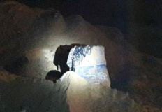 Przyjma. Znaleziono zakopane beczki z niebezpieczną z substancją