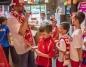 Ponad setka małych kibiców dopingowała reprezentację Polski