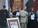 Konkurs piosenki literackiej i E. Adamiak w zamkowych murach