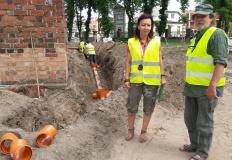 Przy farze pracują archeolodzy. Będzie odwodnienie kościoła
