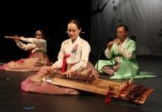 Konin. Artyści z Korei Południowej zaprezentowali tradycyjną muzykę