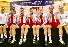 Dwa medale kolarzy KLTC na Młodzieżowych Mistrzostwach Europy!