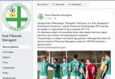 Oficjalnie: KP Starogard Gdański w III lidze w nowym sezonie