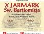 Konin. Jarmark św. Bartłomieja po raz dziesiąty na placu Wolności