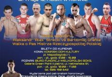 Konin. Międzynarodowy mecz bokserski Polska - Ukraina