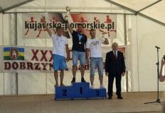 Ojciec i syn na podium windsurfingowych mistrzostw