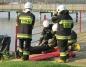 Gosławice. Strażacy ochotnicy ćwiczyli w ośrodku wypoczynkowym