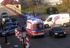 Porachunki przy moście Toruńskim? Niebezpiecznie na bulwarze