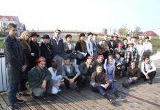 Konin. Licealiści wcielili się w przedwojennych mieszkańców miasta