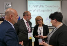 W PWSZ Konin dyskutowali o turystyce rowerowej w Wielkopolsce