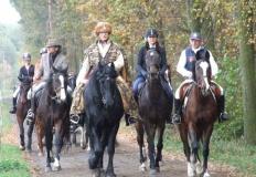 Hubertus w Trójce. Była przejażdżka i tradycyjna gonitwa za lisem