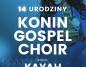 Kayah na 14 urodzinach konińskiego chóru gospel w Oskardzie