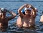 Konińskie morsy na wygnaniu. Pierwsza kąpiel w Ślesinie